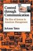 9780801846137 : control-through-communication-yates