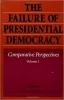 9780801846403 : the-failure-of-presidential-democracy-linz-valenzuela