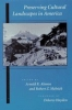 9780801862649 : preserving-cultural-landscapes-in-america-alanen-melnick-hayden