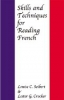 9780801868597 : skills-and-techniques-for-reading-french-seibert-crocker