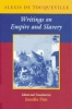 9780801877568 : writings-on-empire-and-slavery-tocqueville-pitts-pitts