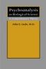 9780801880513 : psychoanalysis-as-biological-science-gedo