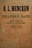 9780801885327 : heathen-days-volume-3-mencken