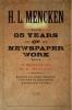 9780801885563 : thirty-five-years-of-newspaper-work-mencken-hobson-fitzpatrick
