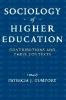 9780801886157 : sociology-of-higher-education-gumport