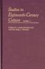 9780801887956 : studies-in-eighteenth-century-culture-volume-37-zionkowski-thomas