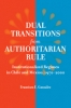 9780801887994 : dual-transitions-from-authoritarian-rule-gonzalez