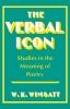 9780813101118 : the-verbal-icon-wimsatt