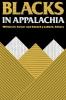 9780813101620 : blacks-in-appalachia-turner-cabbell