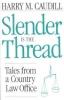 9780813108117 : slender-is-the-thread-caudill