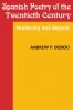9780813108353 : spanish-poetry-of-the-twentieth-century-debicki