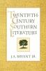 9780813109374 : twentieth-century-southern-literature-bryant-bryant