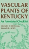 9780813116754 : vascular-plants-of-kentucky-browne-athey