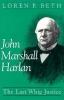 9780813117782 : john-marshall-harlan-beth