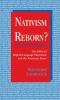 9780813119182 : nativism-reborn-tatalovich