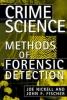 9780813120911 : crime-science-nickell-fischer