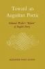 9780813150994 : toward-an-augustan-poetic-allison