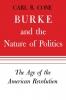 9780813151779 : burke-and-the-nature-of-politics-cone