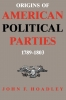 9780813153209 : origins-of-american-political-parties-hoadley