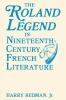 9780813154510 : the-roland-legend-in-nineteenth-century-french-literature-redman