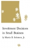 9780813154732 : investment-decisions-in-small-business-soloman