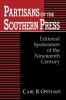 9780813160115 : partisans-of-the-southern-press-osthaus