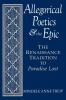 9780813160344 : allegorical-poetics-and-the-epic-treip