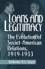 9780813160351 : loans-and-legitimacy-siegel