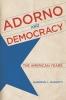 9780813167336 : adorno-and-democracy-mariotti