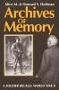 9780813192499 : archives-of-memory-hoffman-hoffman