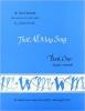 9780813202020 : book-1-that-all-may-sing-teacher-workbook-ward
