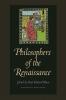 9780813217260 : philosophers-of-the-renaissance-blum-mcneil