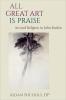 9780813228921 : all-great-art-is-praise-nichols