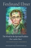 9780813234069 : the-word-and-the-spiritual-realities-the-i-and-the-thou-ebner-green-chapel