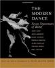 9780819560032 : the-modern-dance-cohen-hawkins