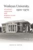 9780819563606 : wesleyan-university-1831-1910-potts