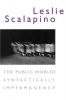 9780819572226 : the-public-world-syntactically-impermanence-scalapino