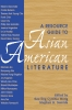 9780873522717 : a-resource-guide-to-asian-american-literature-wong-sumida