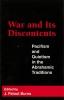 9780878406036 : war-and-its-discontents-burns