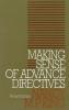 9780878406050 : making-sense-of-advance-directives-2nd-edition-king