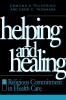 9780878406432 : helping-and-healing-pellegrino-thomasma