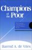 9780878406654 : champions-of-the-poor-devries