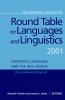 9780878409044 : georgetown-university-round-table-on-languages-and-linguistics-gurt-2001-tannen-alatis