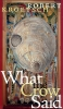 9780888643032 : what-the-crow-said-kroetsch-wilson