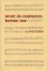 9780912839059 : music-in-lexington-before-1840-carden