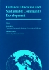 9780919737051 : distance-education-and-sustainable-community-development-wall-owen