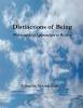 9780982711927 : distinctions-of-being-zunic-zunic