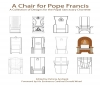9781329701199 : a-chair-for-pope-francis-andrasik