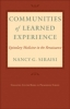 9781421407494 : communities-of-learned-experience-siraisi