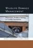 9781421409450 : wildlife-damage-management-reidinger-miller